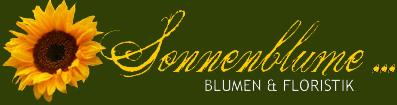 """Sonnenblume"" – Blumen Fußhöller"